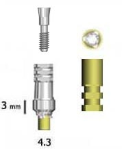 Picture of 4.3 mm Abutments (BlueSkyBio.com)