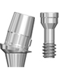 Picture of Titanium Angled Digital Abutment - without hex, Narrow Platform