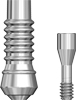 Picture of Non-Engaging Pickup Abutment for Permanent and Temporary Screwmentable Restorations, BIO | Max NP (includes screw) option for Standard Temporary Abutments product (BlueSkyBio.com)