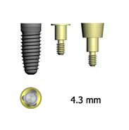 Picture of 4.3mm Implants (BlueSkyBio.com)