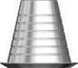 Picture of Multi Unit Titanium Coping Thimble option for Components product (BlueSkyBio.com)