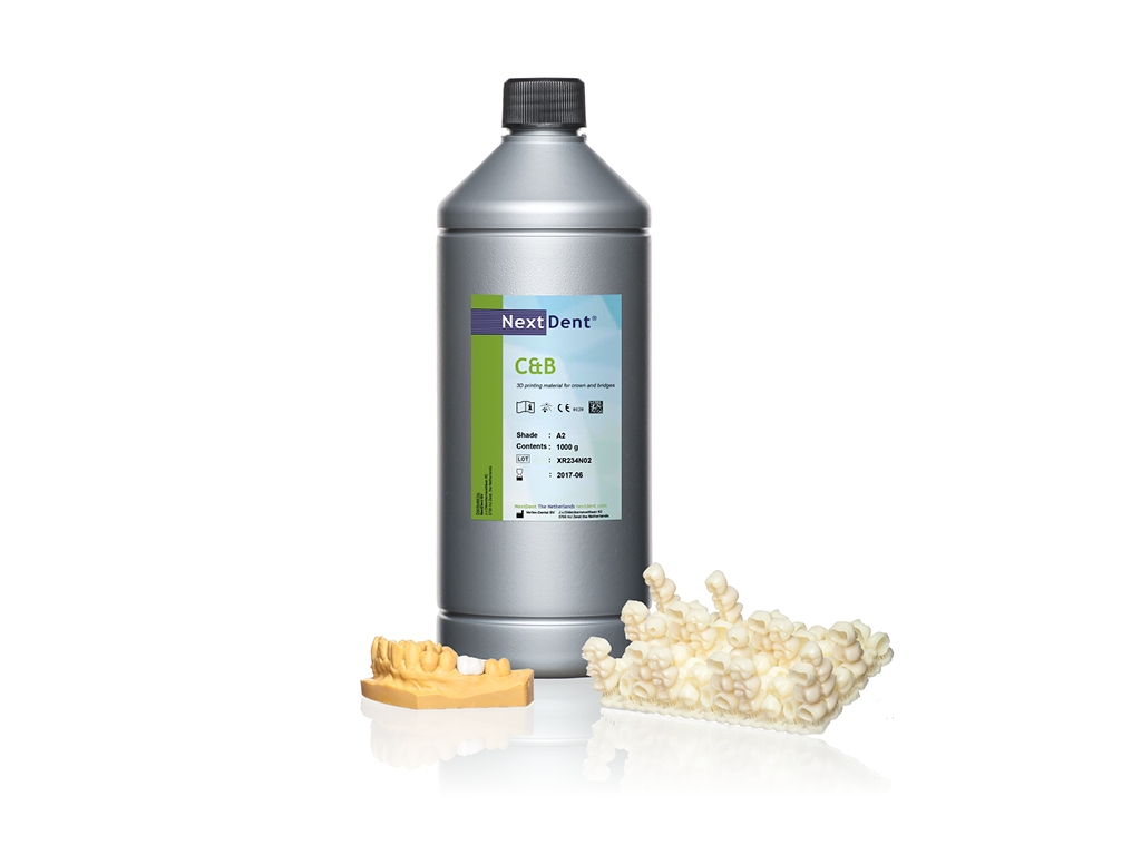 Picture of NextDent C&B – Temporary Crown & Bridge Resin, 1 Liter option for MoonRay product (BlueSkyBio.com)