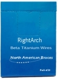 Picture of Beta Titanium ArchWire – Natural Form (BlueSkyBio.com)