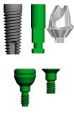 Picture of 3.7mm Titanium Custom Abutment Practice Building Kit (BlueSkyBio.com)