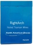 Picture of Nickel Titanium ArchWire – Reverse Curve (BlueSkyBio.com)