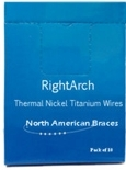 Picture of Nickel Titanium Thermal ArchWire – Natural Form (BlueSkyBio.com)