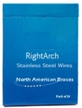 Picture of Stainless Steel ArchWire – Natural Form (BlueSkyBio.com)