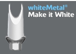 Picture of whiteMetal<sup>®</sup> OPAQUER (BlueSkyBio.com)